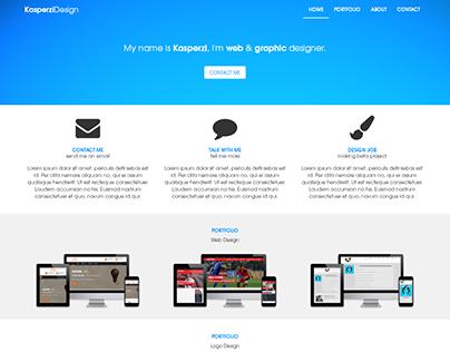 Clean Portfolio HTML Template