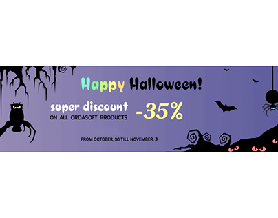 Halloween sale, terrible discounts on everything!