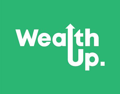 Wealthy: WealthUp Logo