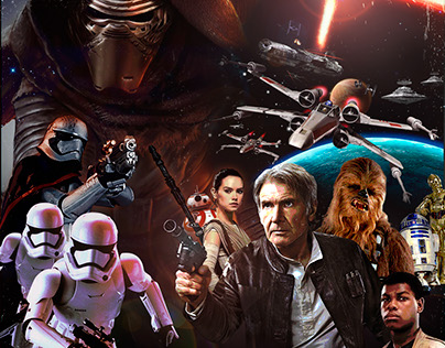 STAR WARS : The Force Awakens Poster