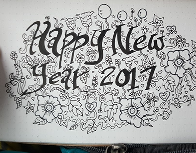 Doodles 18 - Happy New Year