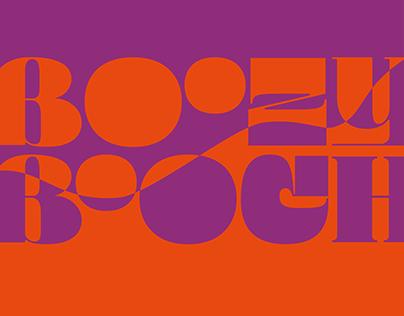 Boozy Booch Brochure Design