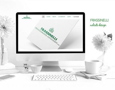 Frassinelli Website Design
