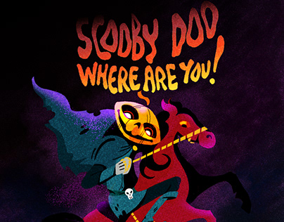Unofficial Scooby-Doo poster