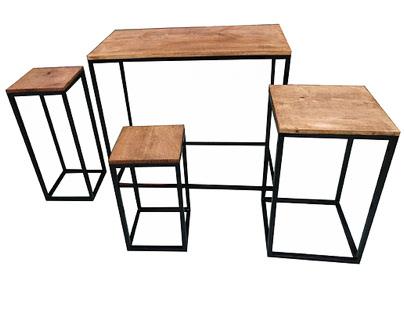 Kit mesa cubos