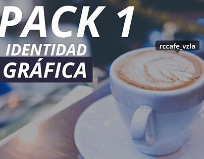 Identidad gráfica RC Café - pack 1