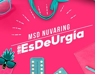 #EsDeUrgía - MSD Nuvaring