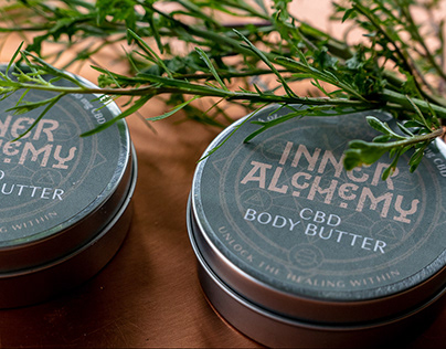 Inner Alchemy Brand Identity and Packaging