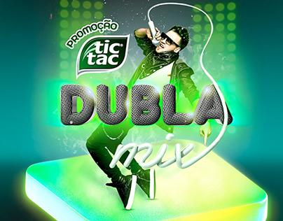 Promoção TIC TAC Dubla Mix