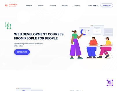 Landing page   Лендинг пейдж курсы по веб разработке