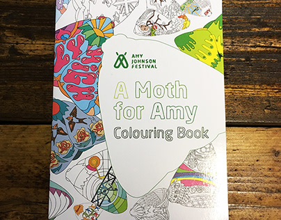A Moth for Amy Colouring Book
