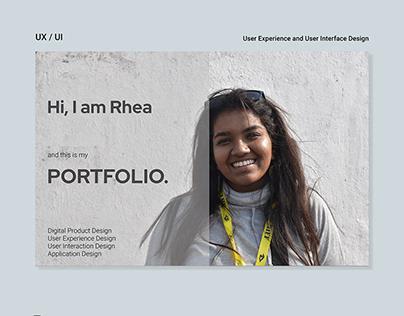 Portfolio UX & UI