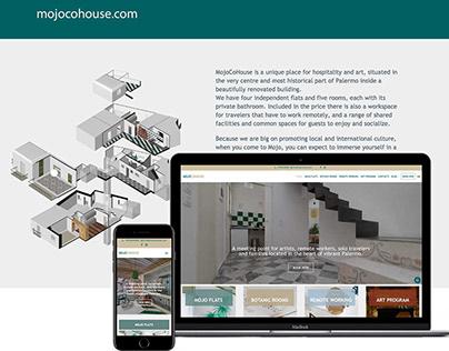 Mojo CoHouse | website, seo