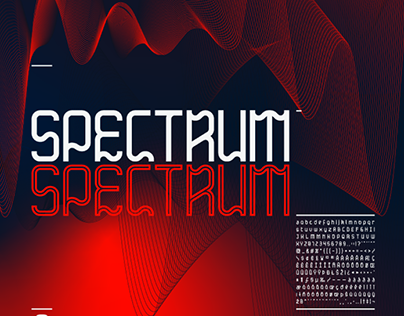 SPECTRUM - FREE FONT