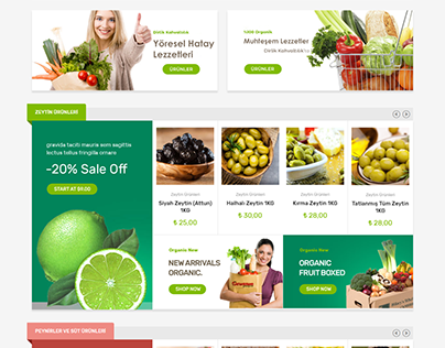 Hatay Paketi Organic E-Commerce Woocommerce Design