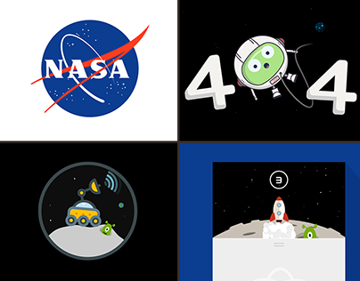 Space Themed Animations