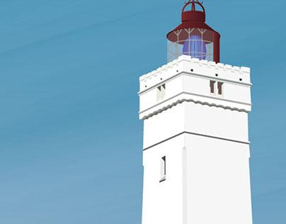 The lighthouse at Blåvandshuk