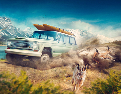 "Jeep Wagoneer __ ""Roadtrip"" __"
