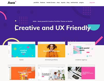 AWA - Portfolio WordPress Portfolio