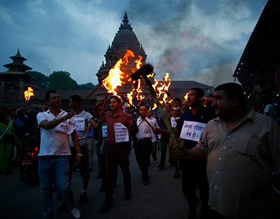 News protests from the week in Nepal