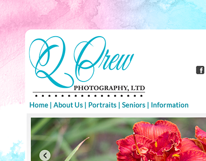 Q Crew Photography - Website Design