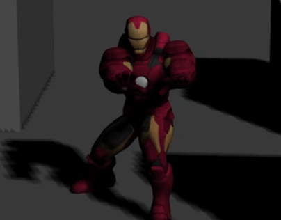 Motion Capture Final - Iron Man