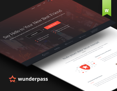 Wunderpass Landing Pages