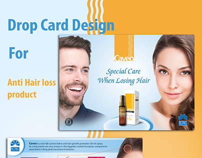 Product Drop card design