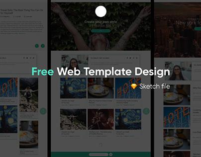 BALSAM - FREE WEBSITE TEMPLATE DESIGN