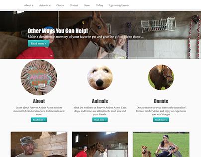 Animal Sanctuary Website