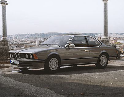 BMW 635CSi - CGI - Personal Project