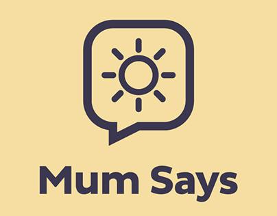 Mum Says, weather app
