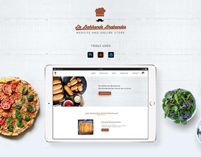 Bakery Website and Online Store - Netherlands