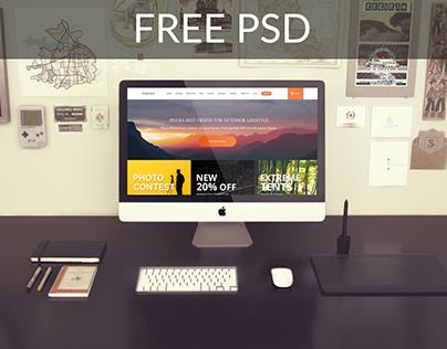 Pinoes - eCommerce PSD Free