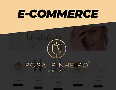 E-commerce - Rosa Pinheiro Joias