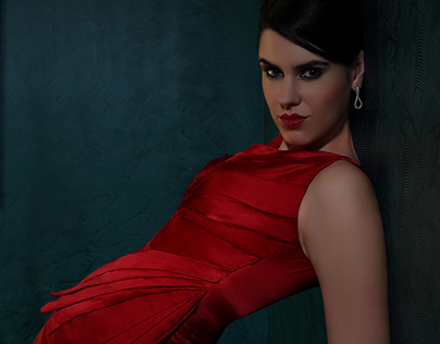 """ The Rose Dress "" - SYMRISE AG | Styling - Eveningwear"