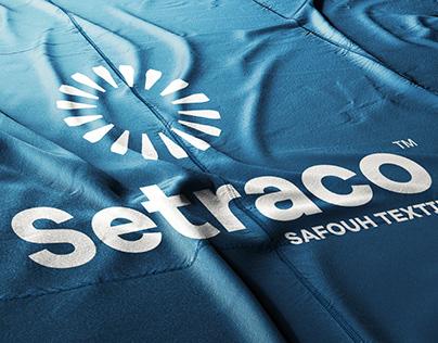 Setraco Safouh Textile Brand Identity