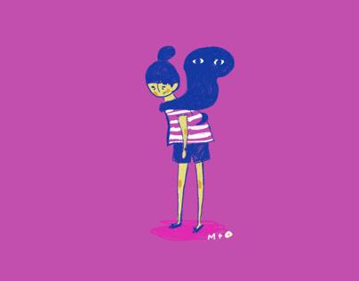 Tiny illustrations series 1