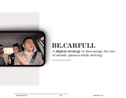 Be.carfull - digital strategy