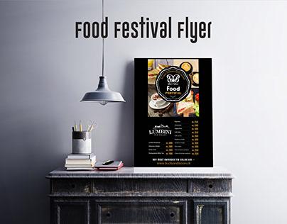 Food Menu Flyer Template Design