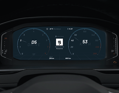 Automotive Digital Dashboard