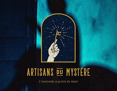 Artisans du Mystère : visual Identity