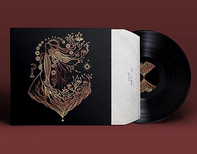 """Albaa - Portada EP """"Resiliencia"""""""