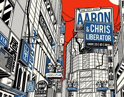 Aaron & Chris Liberator Poster