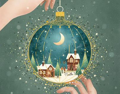 Christmas Night Bauble