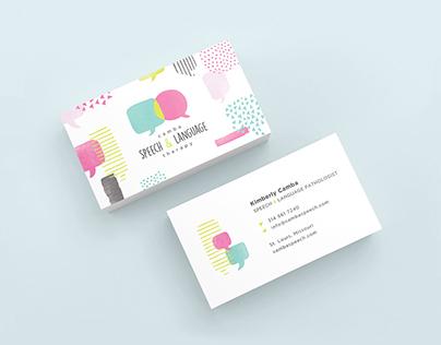 Logo & Identity - Camba Speech & Language Therapy