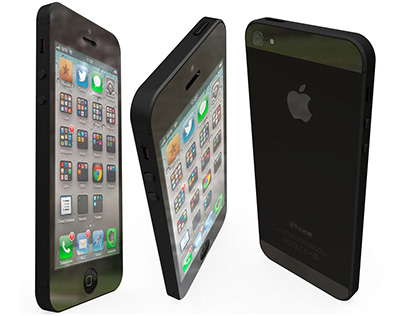 Creating an iPhone5 in 3D with Photoshop CC