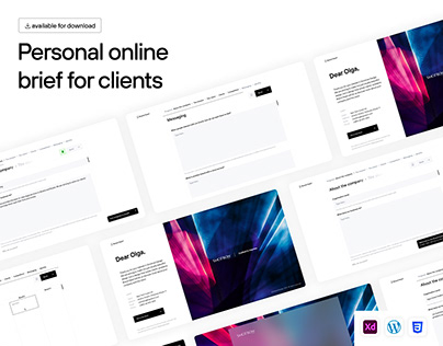 Personal Online Brief for Clients | Download the App
