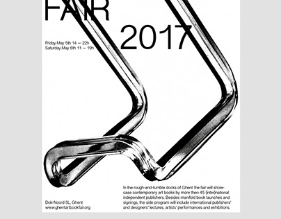 Ghent Art Book Fair 2017