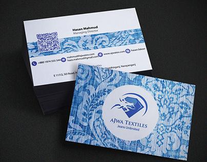 AJWA Business Card